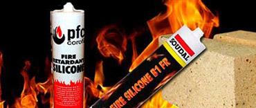Огнеупорный герметик для печей