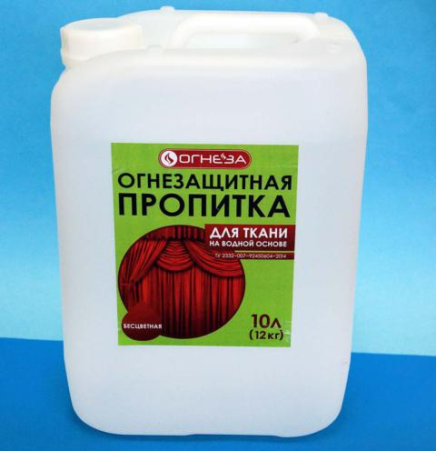 Пропитка для ткани огнезащитная ОГНЕЗА-ПО-Т 12 кг