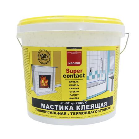Универсальная мастика Neomid Supercontact 4 кг