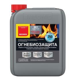 Neomid 001 SuperProff — огнебиозащита для дерева 12 кг