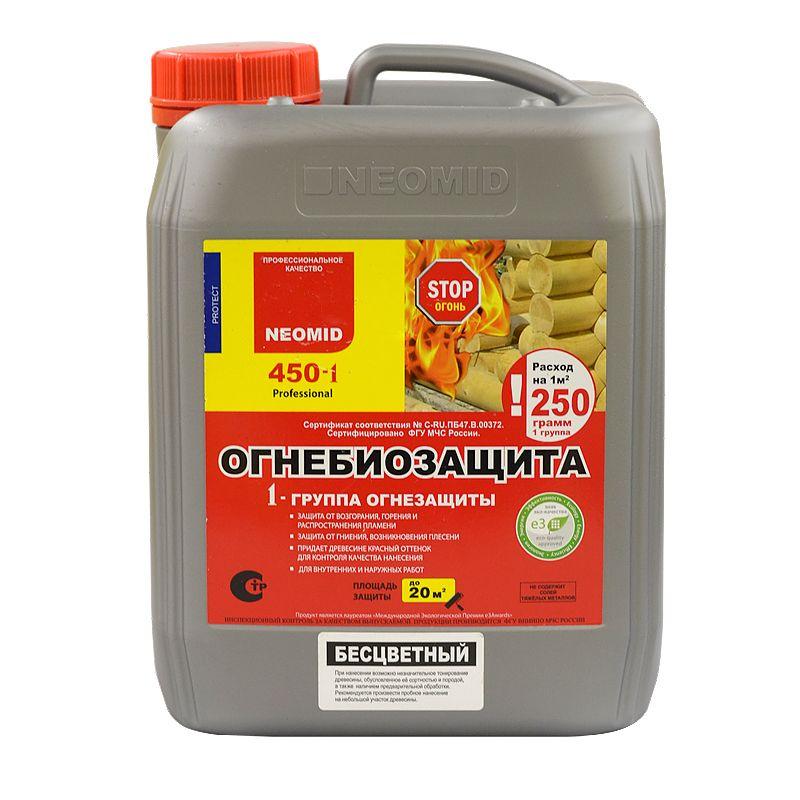 Neomid 450-i – огнебиозащита для дерева , 5 кг