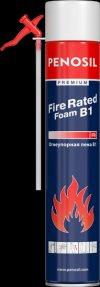 Огнестойкая монтажная пена PENOSIL Premium Fire Rated Foam, ручная (750 мл) цвет: розовый