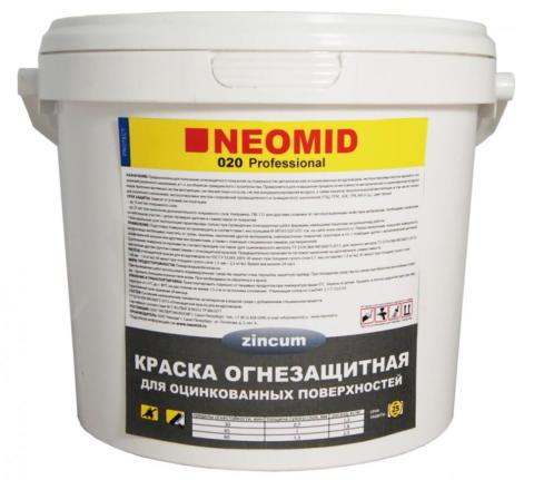 Огнезащитная краска для воздуховодов Неомид, 6 кг