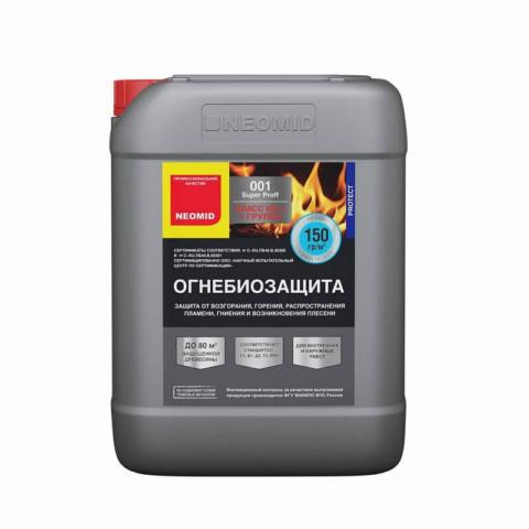 Neomid 001 SuperProff — огнебиозащита для дерева 6 кг