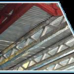 Огнезащитная конструктивная система термозащиты по металлу